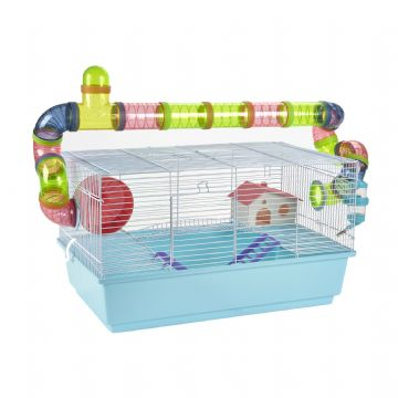 Pet Ting Blue Lily Rodent Cage